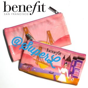 3/$15 Benefit Cosmetic Makeup San Francisco Bag